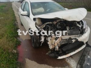 Βοιωτία: Σύγκρουση αυτοκινήτου με αγριογούρουνο! [pic]