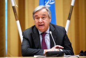 """Ο Γκουτέρες """"αποθεώνει"""" τη συμφωνία των Πρεσπών! Θα φέρει πολλά οφέλη στα Βαλκάνια είπε ο Γ.Γ του ΟΗΕ"""