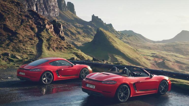 Νέες Porsche 718 Cayman T και Boxster T [vids] | Newsit.gr