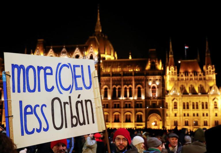 Ουγγαρία: Νέα διαδήλωση κατά της κυβέρνησης Όρμπαν   Newsit.gr