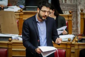 Νάσος Ηλιόπουλος: Σήμερα η ανακοίνωση της υποψηφιότητας του για το δήμο Αθηναίων