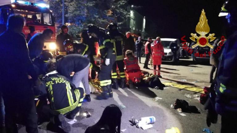 Ιταλία: Η στιγμή της τραγωδίας στην Ανκόνα! Video σοκ | Newsit.gr