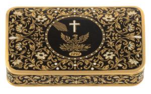 Μια περιουσία για τη χρυσή ταμπακιέρα του Ιωάννη Καποδίστρια