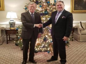 Οι ελληνοτουρκικές σχέσεις στο επίκεντρο της συνάντησης Κατρούγκαλου – Μπόλτον στον Λευκό Οίκο
