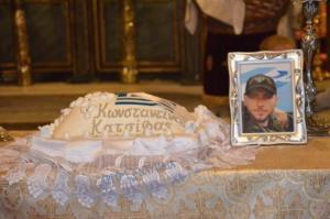 Ναύπλιο: Μνημόσυνο για τον Κωνσταντίνο Κατσίφα – Συγκίνηση στην εκκλησία της Παναγίας – video