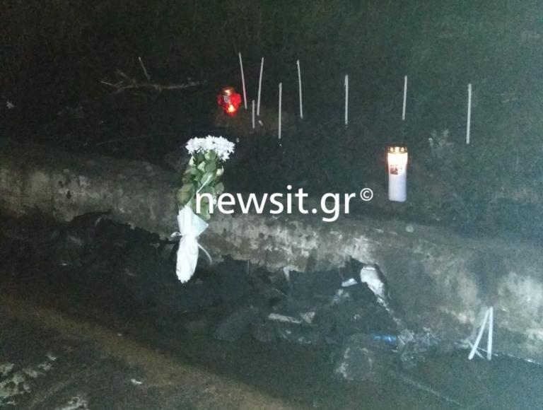 Κυπαρρισία: Λουλούδια στο μέρος που άφησε την τελευταία της πνοή η 13χρονη   Newsit.gr