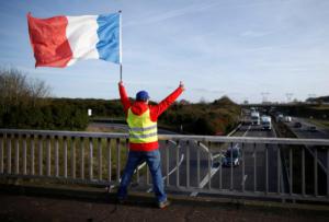 """Γαλλία: Στους εννέα οι νεκροί από τις κινητοποιήσεις των """"κίτρινων γιλέκων"""""""