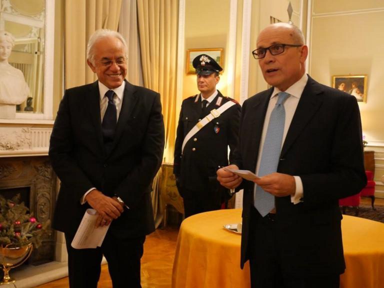 Δημήτρης Κοπελούζος: Παρασημοφορήθηκε από τον Πρόεδρο της Ιταλικής Δημοκρατίας!   Newsit.gr