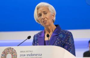«Καμπανάκι» Λαγκάρντ: Επισφαλής η παγκόσμια ανάπτυξη εν μέσω εμπορικών εντάσεων