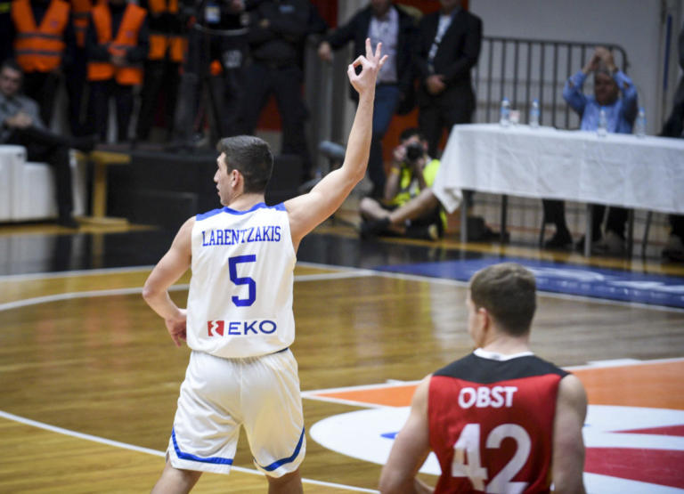 Προκριματικά Μουντομπάσκετ: Το έβαλε από το… σπίτι του ο Λαρεντζάκης! Απολαυστικό Top 5 – video | Newsit.gr