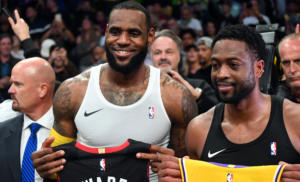 «Βασιλιάς» Λεμπρόν στο αντίο του «αδερφού» Oυέιντ! Τα αποτελέσματα του NBA – videos