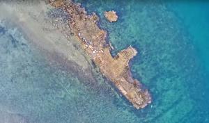 Αυτό είναι το αρχαίο ελληνικό λιμάνι με τις 100 τριήρεις που δεν άγγιξε ο χρόνος