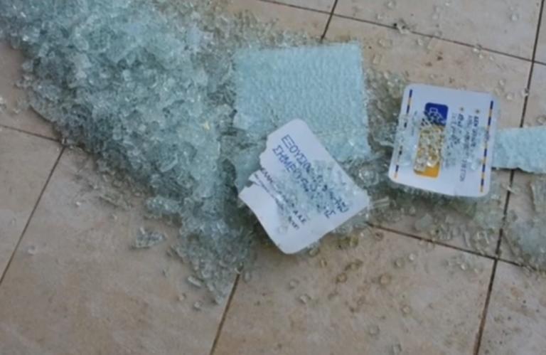 Ναύπλιο: Οι κεραυνοί βοήθησαν τους διαρρήκτες των ΕΛΤΑ – Οι εικόνες που άφησαν πίσω – video | Newsit.gr