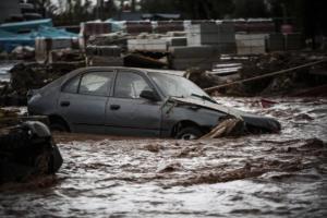 Θρίλερ στη Μάνδρα! Το ποτάμι ξέβρασε σκελετό ένα χρόνο μετά τις πλημμύρες! – video