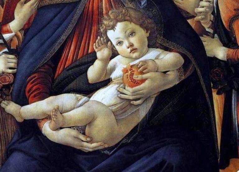 Η ανατομία της ανθρώπινης καρδιάς στα… χέρια του Ιησού σε πίνακα του Μποτιτσέλι! [pics] | Newsit.gr