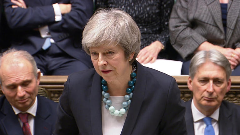Η Μέι ανακοίνωσε την αναβολή της ψηφοφορίας για το Brexit