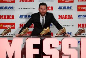 Ξεπέρασε Ρονάλντο ο Μέσι! Πέμπτο «χρυσό παπούτσι» για τον Αργεντινό [vid, pics]