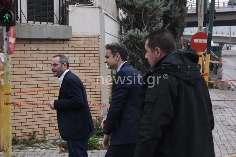 Στον ΣΚΑΙ ο Κυριάκος Μητσοτάκης μετά την έκρηξη | Newsit.gr