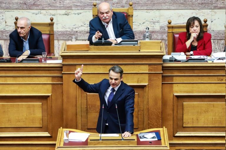 Τι λέει η ΝΔ για τον καβγά Μητσοτάκη – Βούτση στη Βουλή | Newsit.gr