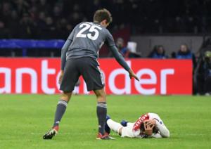 Champions League: Η συγγνώμη του Μίλερ για το «δολοφονικό» χτύπημα στον Ταλιαφίκο [pic]