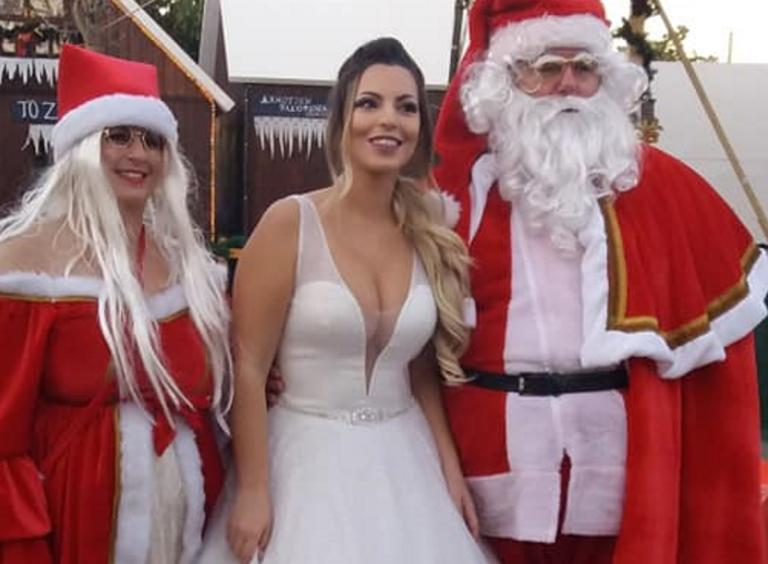Πρέβεζα: Η κούκλα νύφη έκλεψε την παράσταση – Οι φωτογραφίες στο πνεύμα των ημερών [pics]   Newsit.gr