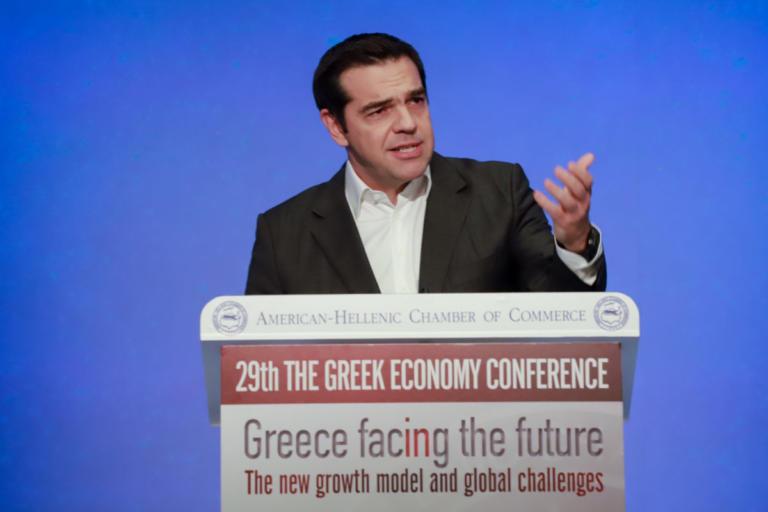 Η ομιλία του Αλέξη Τσίπρα στο ετήσιο Συνέδριο του Ελληνοαμερικανικού Επιμελητηρίου
