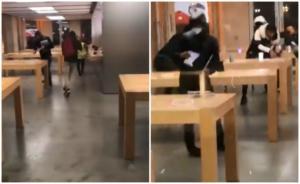 Κίτρινα γιλέκα: Πλιάτσικο στο κατάστημα της Apple! video