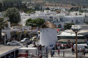 Πάρος: Κινηματογραφική καταδίωξη στην Παροικιά!