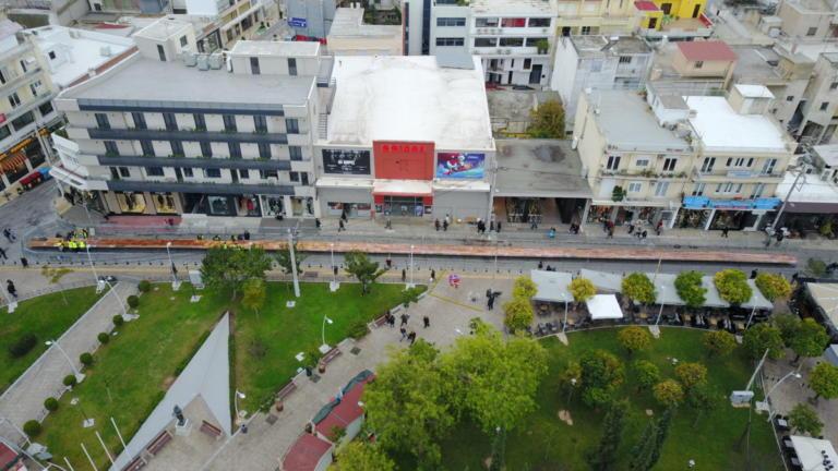 Βασιλόπιτα 3,5 τόνων στο Περιστέρι! [pics] | Newsit.gr