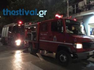 Φωτιά σε διαμέρισμα στη Θεσσαλονίκη!