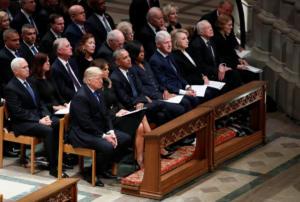 Τζορτζ Μπους: Τελευταίο αντίο στον πρώην Πρόεδρο των ΗΠΑ