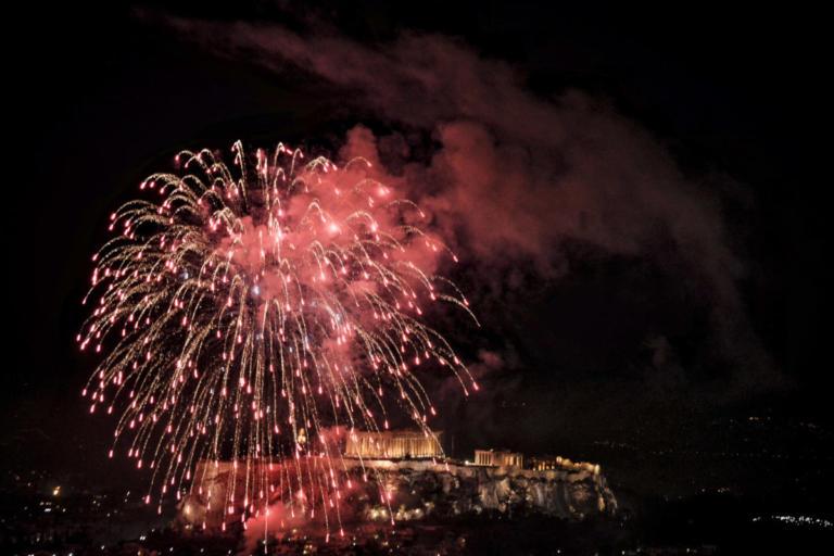 Υπερθέαμα με φόντο την Ακρόπολη για την υποδοχή του 2019 | Newsit.gr