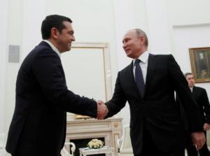 """Τσίπρας – Πούτιν: Αβρότητες και η… """"υπόκλιση"""" Πούτιν στον Κατρούγκαλο [pics]"""