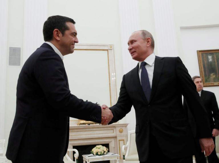 """Τσίπρας – Πούτιν: Αβρότητες και η… """"υπόκλιση"""" Πούτιν στον Κατρούγκαλο [pics]   Newsit.gr"""