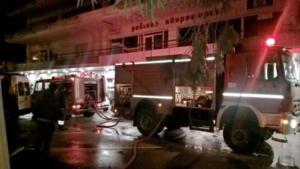 Ρόδος: Κάηκε ολοσχερώς ραδιοφωνικός σταθμός
