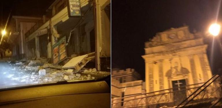 Σεισμός: Τρόμος στην Ιταλία – Έπεσαν σπίτια στην Κατάνια – Συνδέουν τη δόνηση με το ηφαίστειο της Αίτνας | Newsit.gr