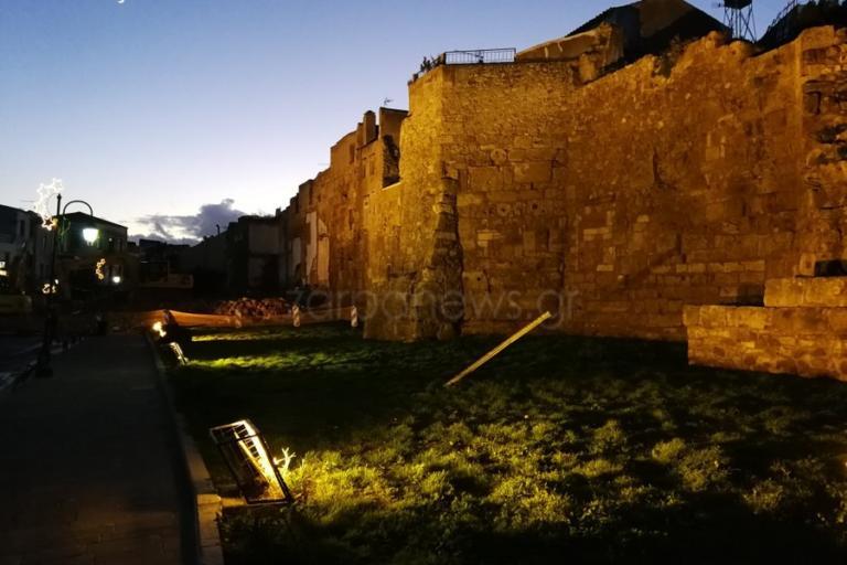 Χανιά: Οι κατεδαφίσεις ανέδειξαν το Βυζαντινό Τείχος – Οι εικόνες μετά το τέλος των εργασιών [pics] | Newsit.gr