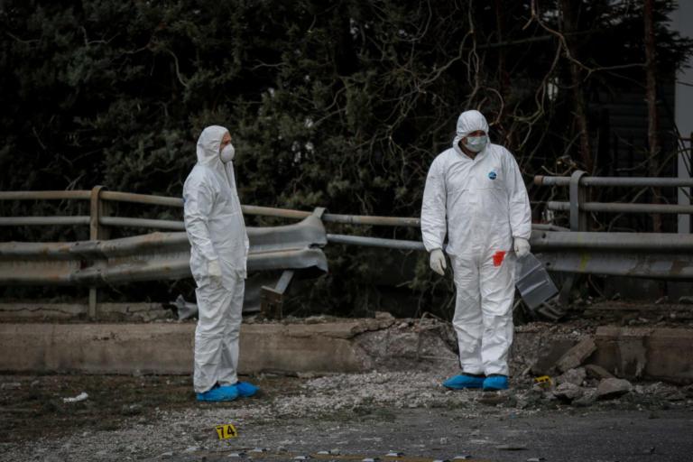 Βόμβα στον ΣΚΑΙ: Εικόνες ντοκουμέντο από το σημείο της έκρηξης | Newsit.gr