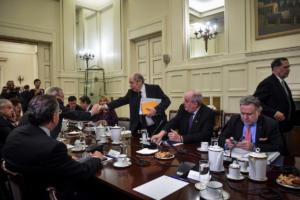 Κατρούγκαλος μετά το Συμβούλιο Εξωτερικής Πολιτικής: Απόλυτη ταύτιση με τον ΑΓΕΕΘΑ!