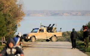Συρία: Έφυγαν οι πρώτοι αμερικανοί στρατιώτες!