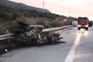 Νέα τραγωδία στην Εγνατία! Τροχαίο με τρεις νεκρούς κι έξι τραυματίες – Εικόνες σοκ