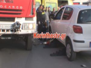 Σοκαριστικό τροχαίο στην Κόρινθο – Ένας πολύ σοβαρά τραυματίας – video