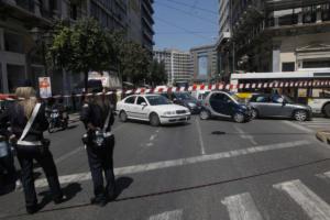 Κυκλοφοριακές ρυθμίσεις στο κέντρο της Αθήνας την Πρωτοχρονιά