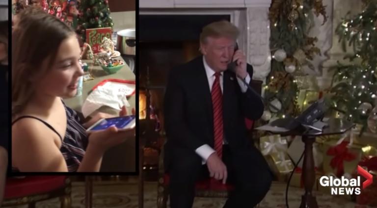 Βίντεο ντοκουμέντο: Ο Τραμπ… δολοφονεί τον Άγιο Βασίλη μιλώντας στην επτάχρονη! | Newsit.gr