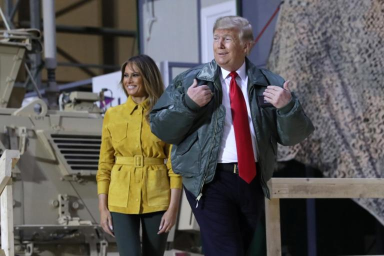 Τους άφησε όλους… παγωτό! Με την Μελάνια ο Τραμπ στο Ιράκ σε επίσκεψη – έκπληξη! | Newsit.gr