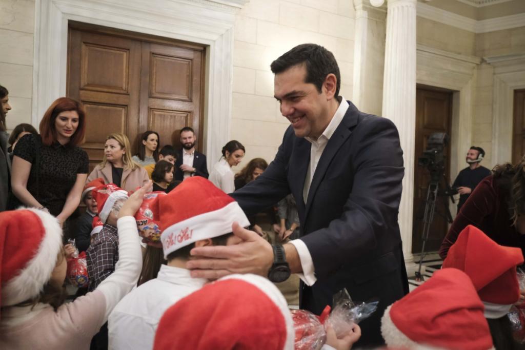 κάλαντα Τσίπρας Μητσοτάκης