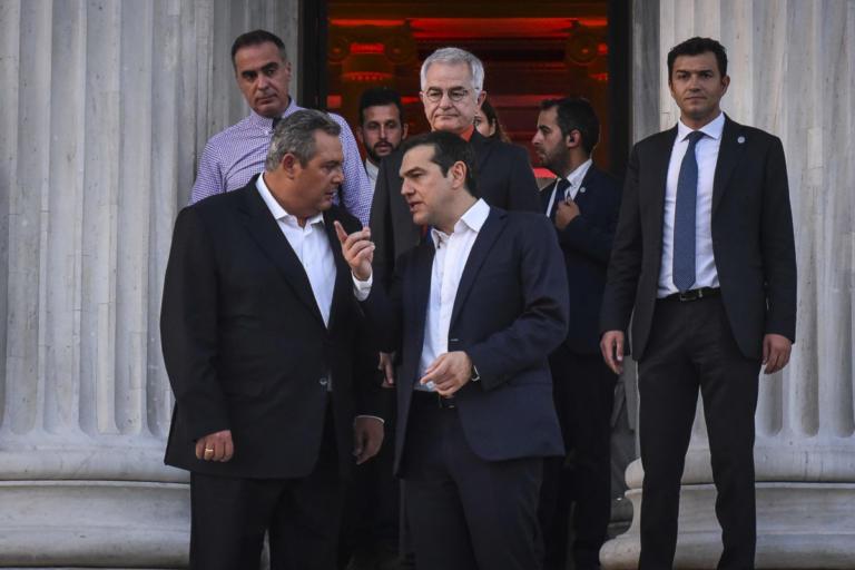 Συνάντηση Τσίπρα – Καμμένου στο περιθώριο της συζήτησης στη Βουλή   Newsit.gr