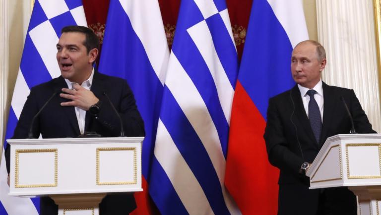 Πώς αντέδρασε ο Πούτιν στο… αστείο του Τσίπρα για την γραβάτα! video