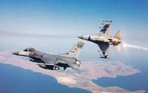 Προκαλούν ξανά οι Τούρκοι – Υπερπτήση μαχητικών εκεί που βρέθηκε ο ΥΕΘΑ!