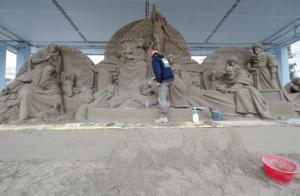 Βατικανό: Μια φάτνη από… 720 τόνους άμμου στην πλατεία του Αγίου Πέτρου! [pics]